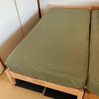 ムジルシリョウヒン(MUJI (無印良品))のGMW様専用(シングルベッド)