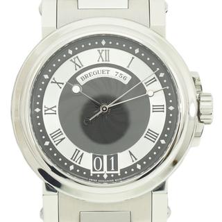 Breguet - ブレゲ マリーン II ラージデイト メンズウォッチ 美品 腕時計