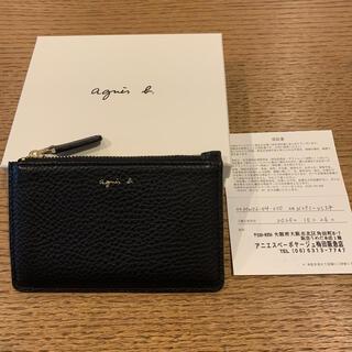 アニエスベー(agnes b.)のアニエスベー ジップ付きカードケース(財布)