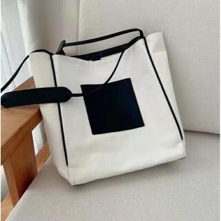 ジルサンダー(Jil Sander)の新品未使用☆保存袋付きジルサンダーイタリア製キャンバストートバッグ(トートバッグ)