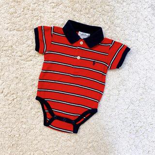 ラルフローレン(Ralph Lauren)のラルフローレン  半袖ロンパース  0-3M  60cm(ロンパース)
