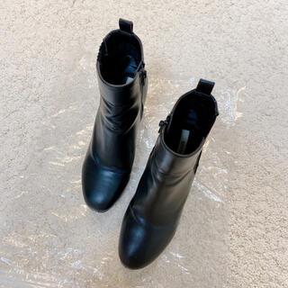 スナイデル(snidel)の美品  スナイデル  サイドゴアブーツ  S  22.5cm(ブーツ)