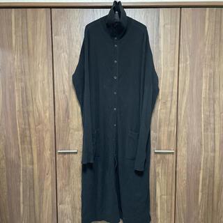 Yohji Yamamoto - YohjiYamamoto pourhomme Long knit coat