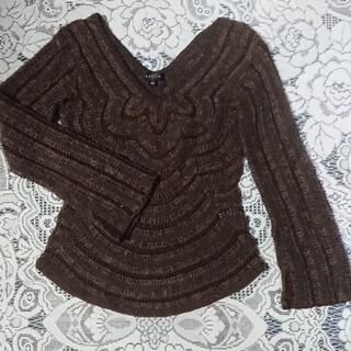 エポカ(EPOCA)の美品◆エポカ デザインニット(ニット/セーター)