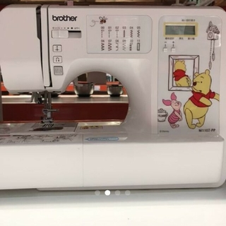 brother - 新品未使用 brother ディズニープーさん コンピューターミシン