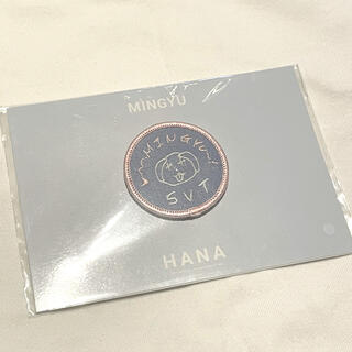 セブンティーン(SEVENTEEN)のSEVENTEEN HANA ミンギュ バッジ(K-POP/アジア)