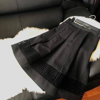M-premier - 美品☆エムプルミエ ブラック☆素敵なブラックスカート