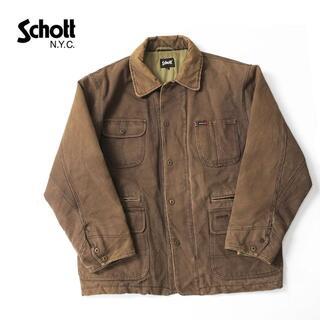 schott - 90s Schott  Hollo Fil 中綿コットンキャンバスジャケット