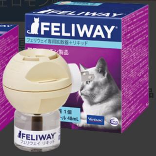 ウェイ フェリ フェリウェイ®専用拡散器+リキッド|フェロモン製品(猫)|ビルバック