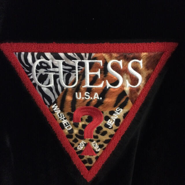GUESS(ゲス)の【最強映え】ATMOS×GUESS コラボ  ブルゾン GENERATIONS メンズのジャケット/アウター(ブルゾン)の商品写真
