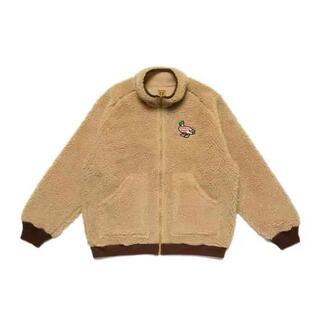 GDC - Human Made Fleece Jacket Duck BEIGE L