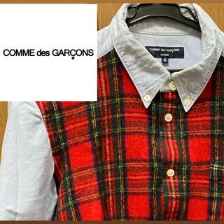 COMME des GARCONS - COMME des GARCONS HOMME チェックシャツ
