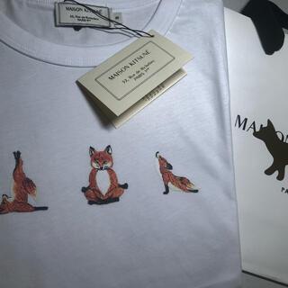 MAISON KITSUNE' - (新品未使用) メゾンキツネヨガフォックスTシャツMサイズ
