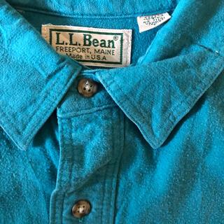 エルエルビーン(L.L.Bean)のL.L.Bean  made in usa vintage シャツ (シャツ)