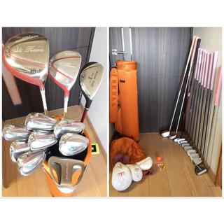 ウィルソン(wilson)のerika様専用 人気一流メーカー超豪華レディースゴルフクラブセット11本(クラブ)
