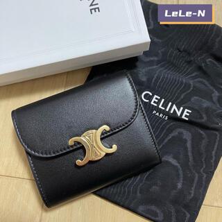 セリーヌ(celine)のついに入荷♪CELINE<新品レシート付き> トリオンフ スモール財布(財布)