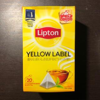 Unilever - リプトン イエローラベル 20袋