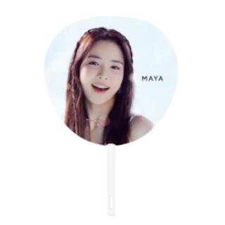 ソニー(SONY)のNiziU マヤ MAYA うちわ(K-POP/アジア)