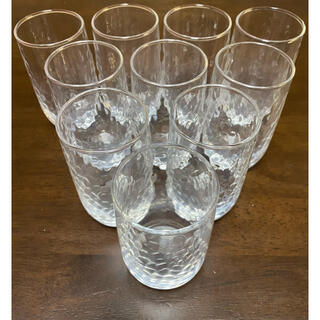 トウヨウササキガラス(東洋佐々木ガラス)の東洋佐々木ガラス 10個セット(グラス/カップ)