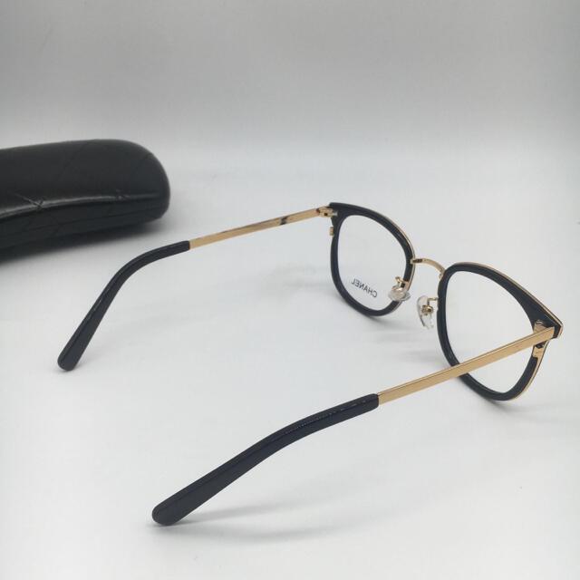 CHANEL(シャネル)の送料込み ch2130 黒 シャネル メガネフレーム レディースのファッション小物(サングラス/メガネ)の商品写真