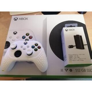 エックスボックス(Xbox)のXbox Series S、Xbox 充電式バッテリーセット(家庭用ゲーム機本体)