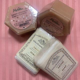 メルヴィータ(Melvita)のメルヴィータとサンタールエボーテ セット(ボディソープ/石鹸)