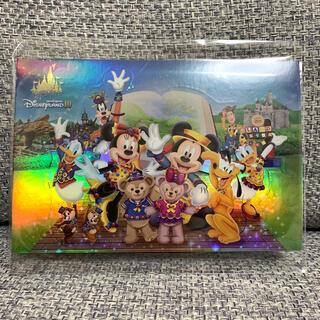 デイジー(Daisy)の香港ディズニーランド 10周年 ポストカード(キャラクターグッズ)