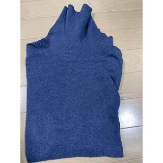フレームワーク(FRAMeWORK)のGicipi ジチピ レディース タートルネックニット ブルー(Tシャツ/カットソー(七分/長袖))