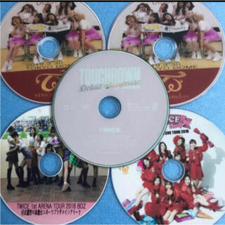 TWICE 日本語バージョン DVD 5枚セットTWICE❤初心者用