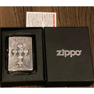 ジッポー(ZIPPO)の★ジッポ Zippoライター スカル ドクロ 十字架 MADE IN USA★(タバコグッズ)