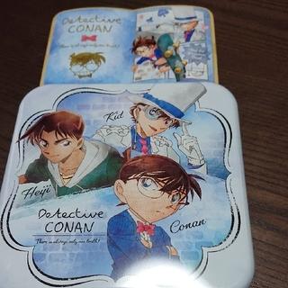 2つセット 名探偵コナンギフト缶 ブック缶 怪盗キッド ホワイトデー イオン限定(菓子/デザート)