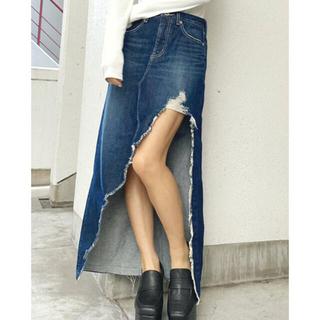 ジェイダ(GYDA)のGYDA アシメロングスカートライクショーパン(ロングスカート)