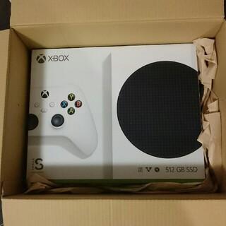 エックスボックス(Xbox)の【新品未開封】Xbox Series S(家庭用ゲーム機本体)