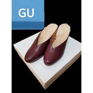 ジーユー(GU)の新品未使用 GU ファーミュール 送料込み(ミュール)