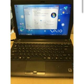 バイオ(VAIO)のソニーVAIO VPCS12AFJ i3 4GB 160GB DVDマルチV(ノートPC)
