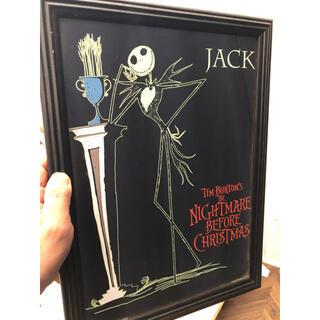 ナイトメアビフォアクリスマス ポスター(額付)