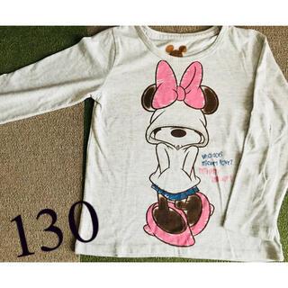 Disney - 【Disney】ミニーちゃん Tシャツ 130