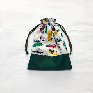 【sold out】車の上履き入れ 緑 オーダーページ(外出用品)