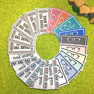 サンキューシール 56枚【A9&A10-WH】(カード/レター/ラッピング)