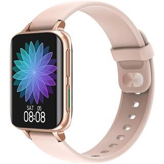 ⭐最新版⭐ スマートウォッチ 活動量計 歩数計 多機能 スマートブレスレット(腕時計(デジタル))