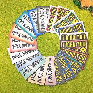 サンキューシール 56枚【A11&A12-WH】(カード/レター/ラッピング)