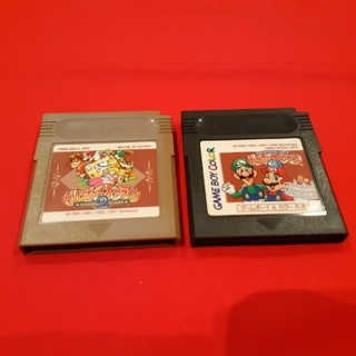 ゲームボーイ(ゲームボーイ)のGB ゲームボーイ ゲームボーイギャラリー 2、3 (2個セット)(家庭用ゲームソフト)