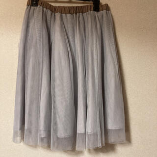 Noela - 美品 Noela チュールスカート フレアスカート