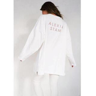 ALEXIA STAM - ALEXIASTAM★新品ロングTシャツ
