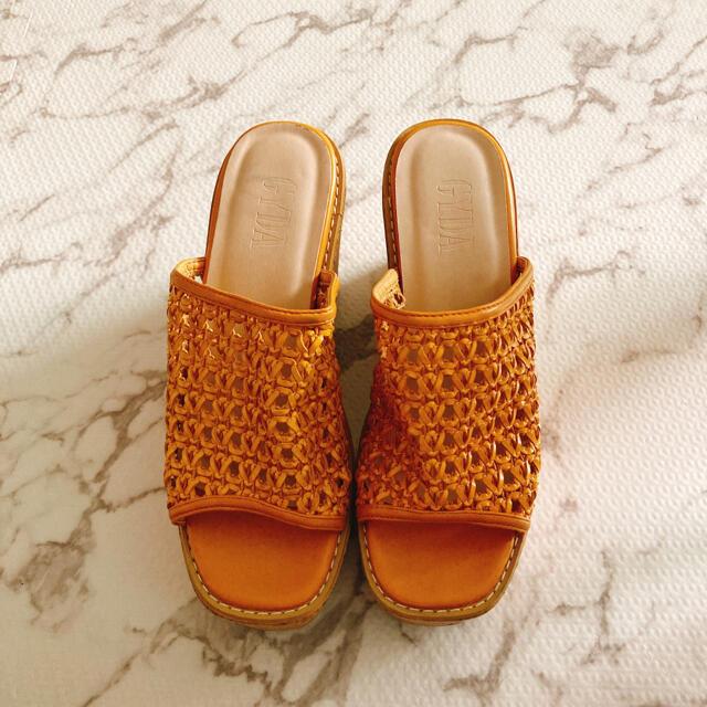 GYDA(ジェイダ)のGYDA ジェイダ コルクサンダル レディースの靴/シューズ(サンダル)の商品写真