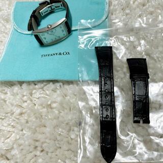 ティファニー(Tiffany & Co.)のティファニー★イーストウエスト腕時計 メンズサイズ ベルト(その他)