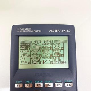 カシオ(CASIO)のCASIO カシオ グラフ関数電卓 ALGEBRA FX 2.0(オフィス用品一般)