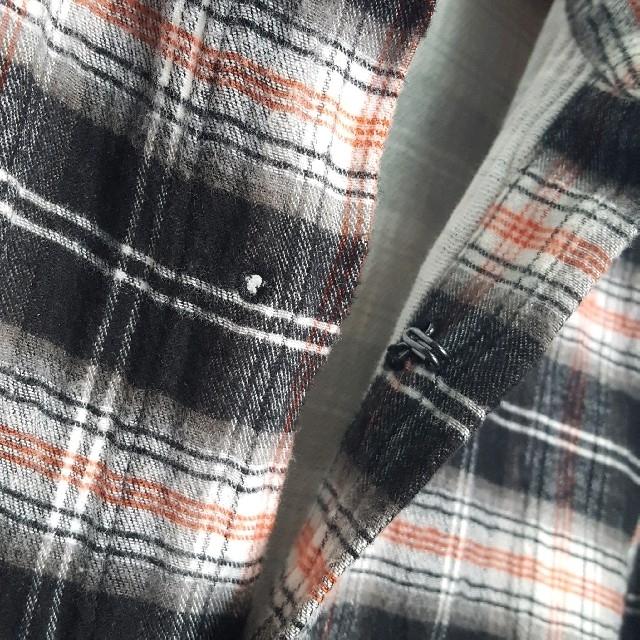 ATTACHIMENT(アタッチメント)の★日本製 ATTACHMENT フック チェック シャツ メンズのトップス(シャツ)の商品写真