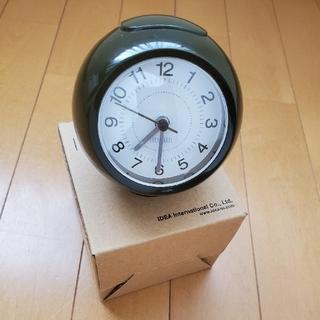 イデアインターナショナル(I.D.E.A international)のIDEAイデア 置き時計 置時計 目覚まし アラーム ライト 丸(置時計)
