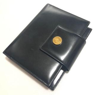 ブルガリ(BVLGARI)のブルガリ BVLGARI LILIM 手帳 革 レザー 黒 (手帳)